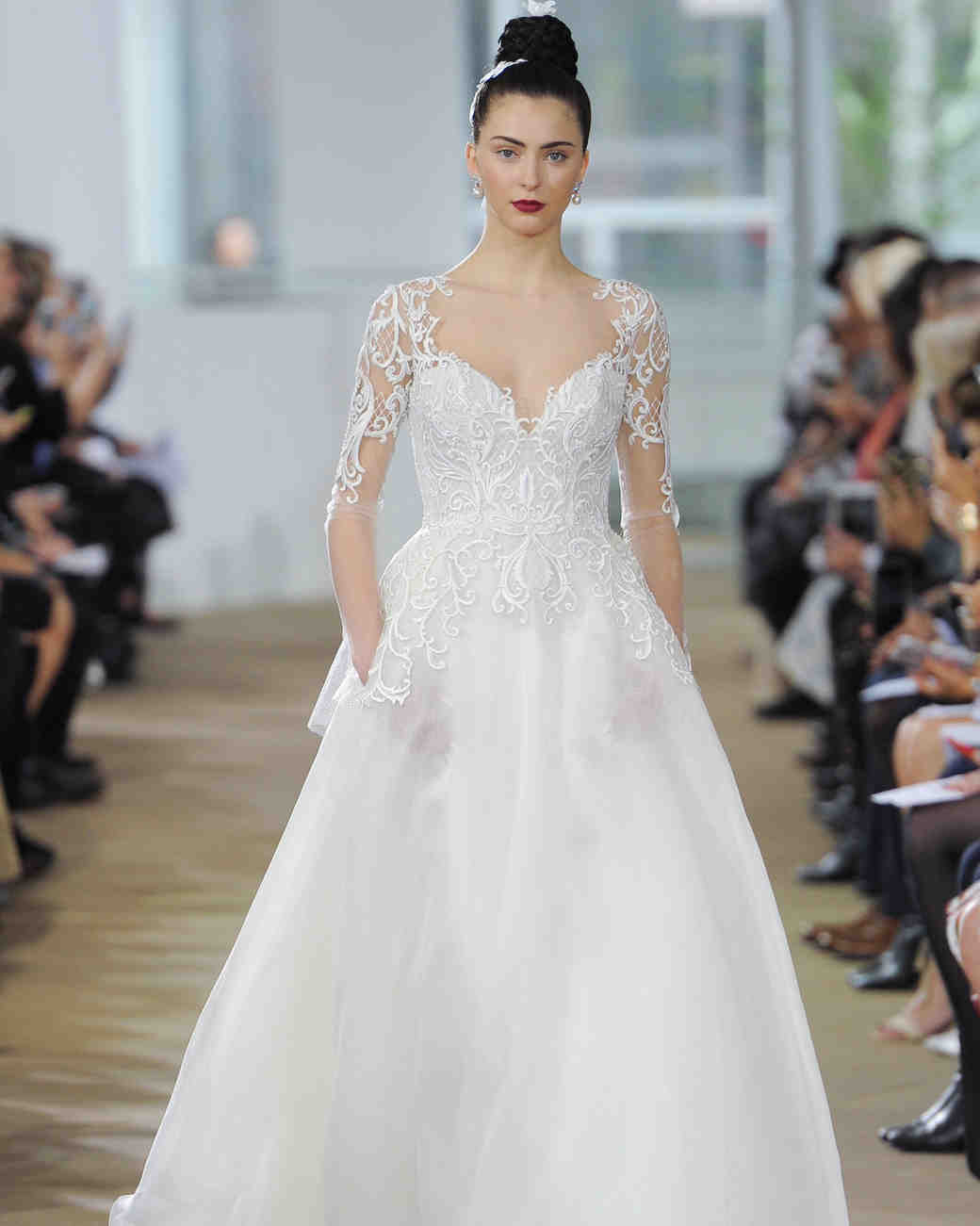 ines di santo wedding sweetheart dress spring 2018