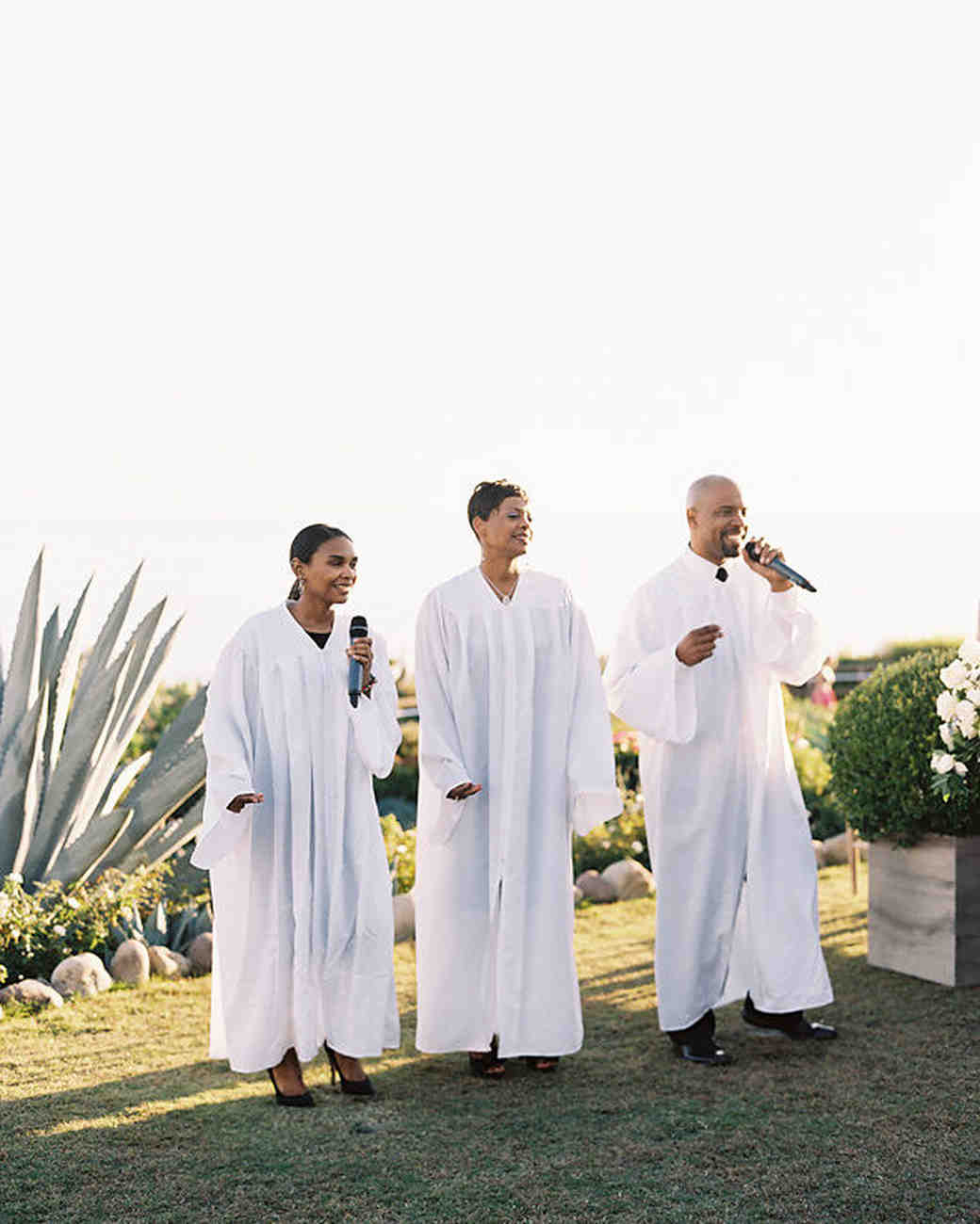 wedding gospel singers