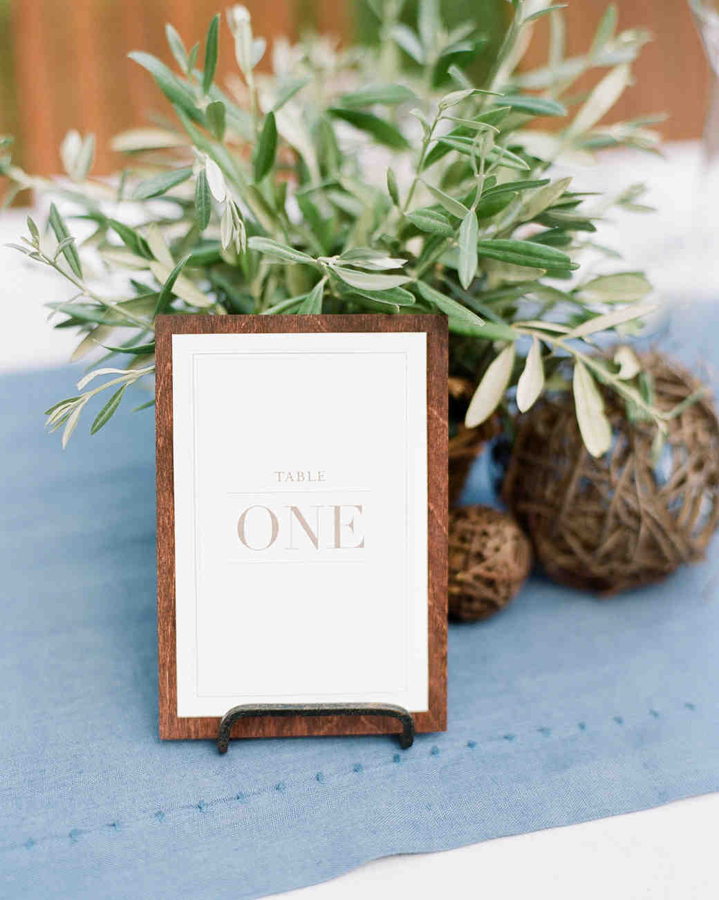 wedding table number ideas that scored at real martha stewart weddings