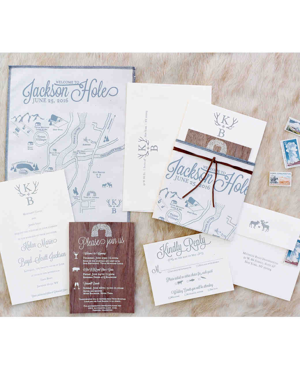 kalen boyd wedding invite