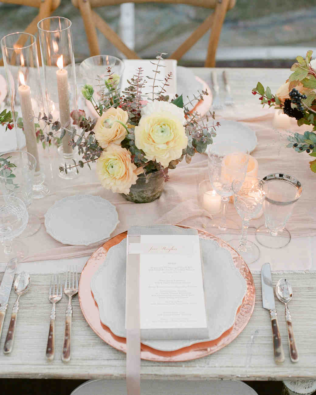 kathryn ian wedding place setting