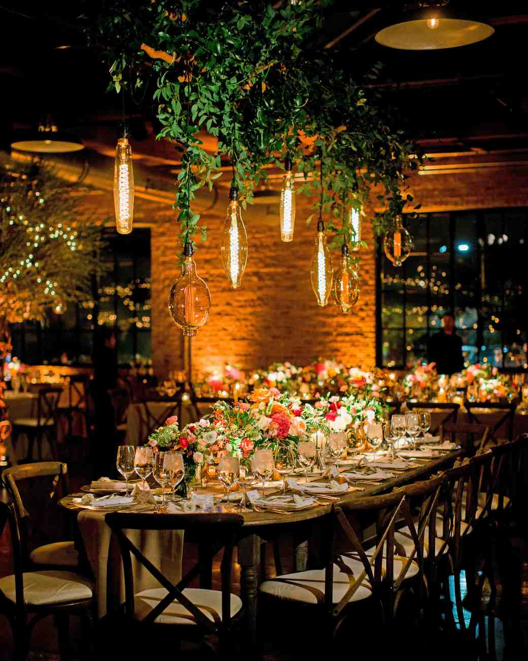 kori paul wedding reception table