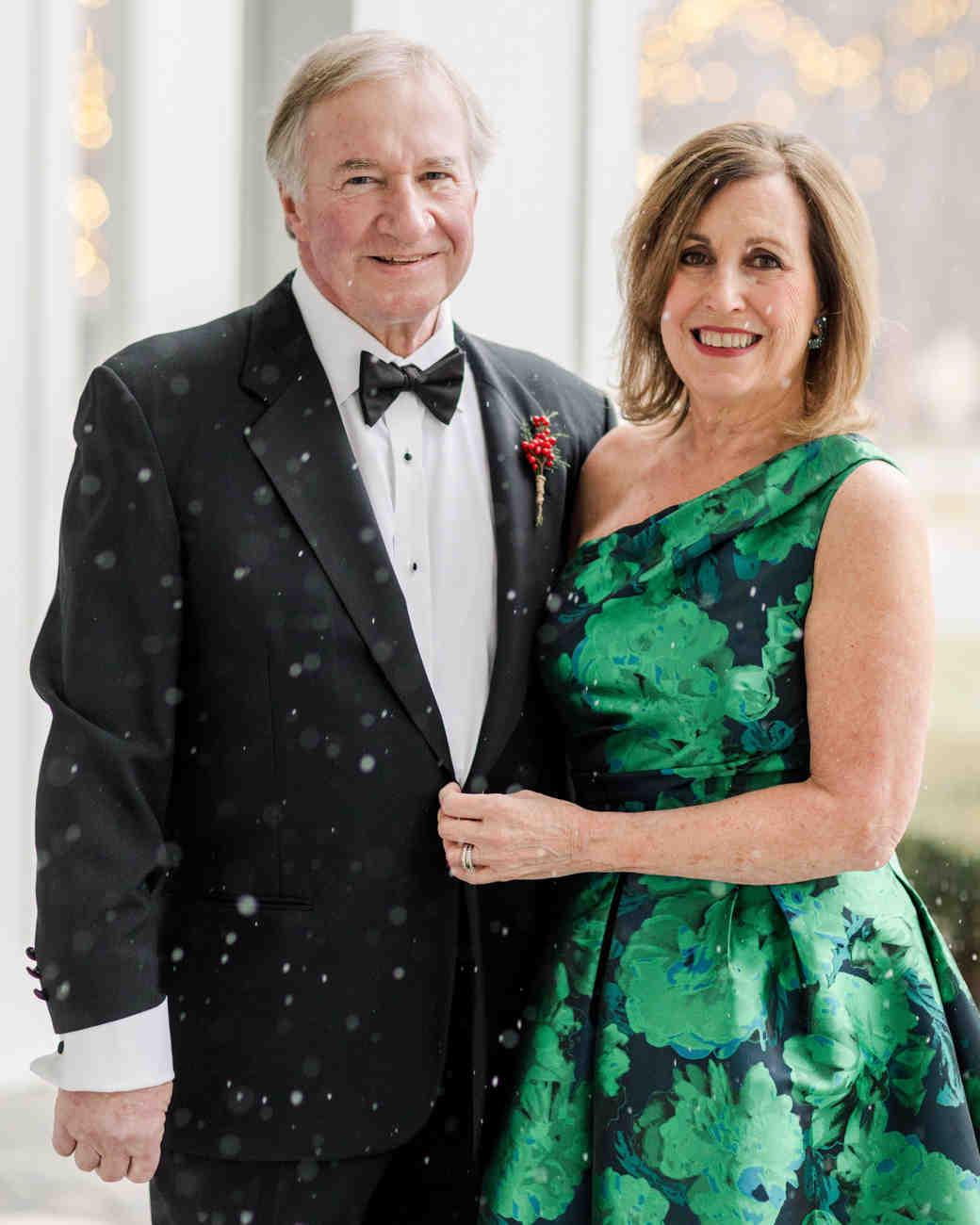 lauren christian christmas wedding parents
