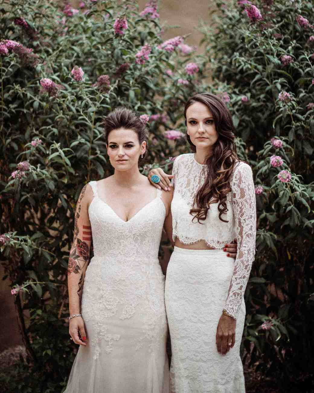 lgbtq bridal inspiration a fist full of bolts