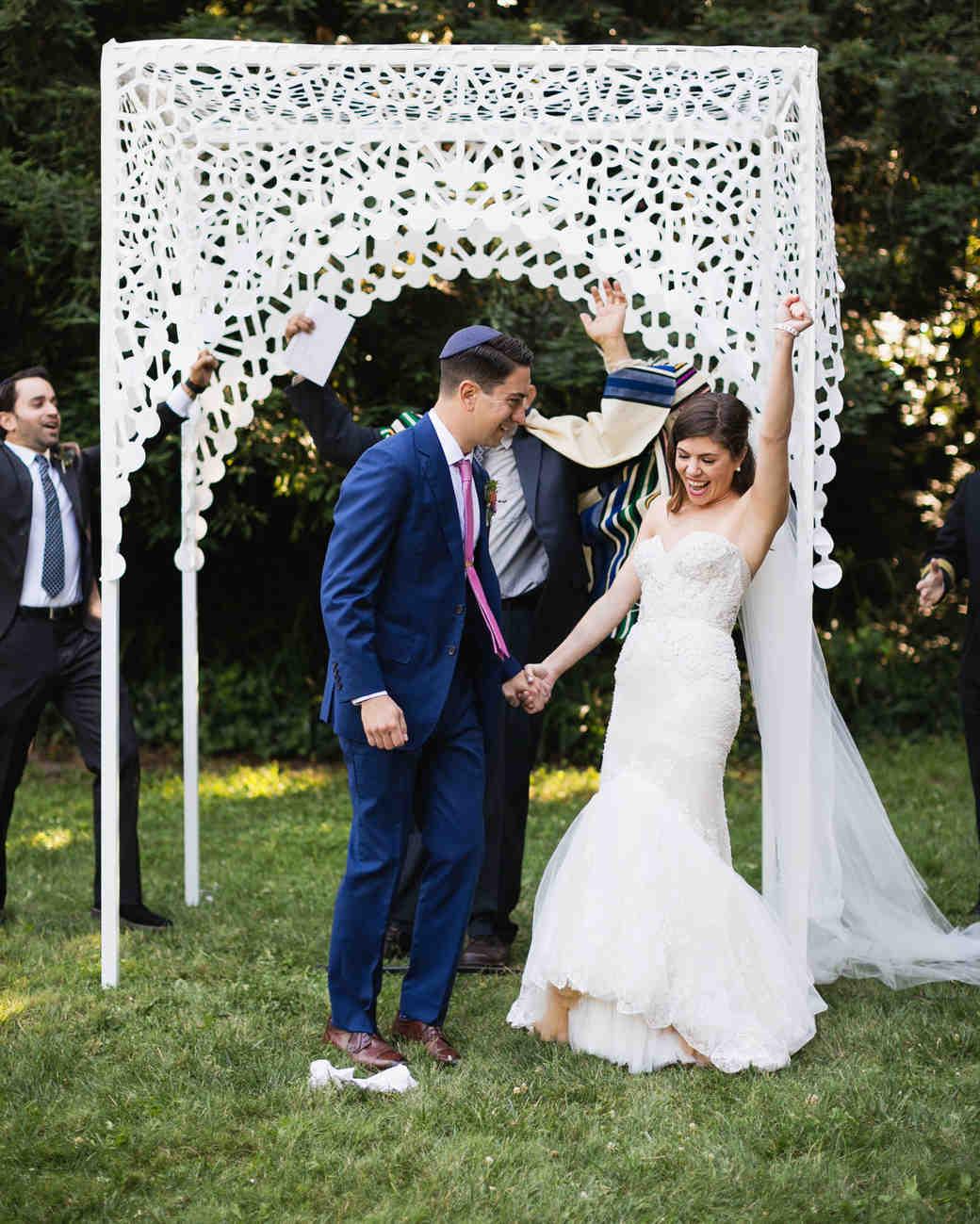 molly adam wedding ceremony glass