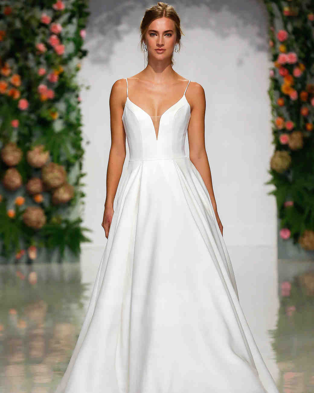 Wedding Dress V Neck