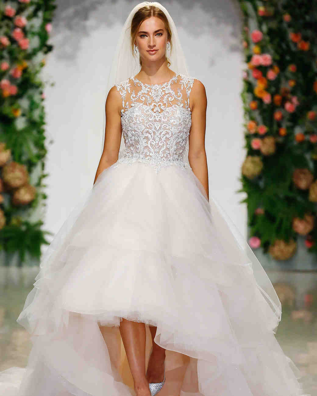 morilee madeline gardner fall 2019 high-low pink tulle ballgown