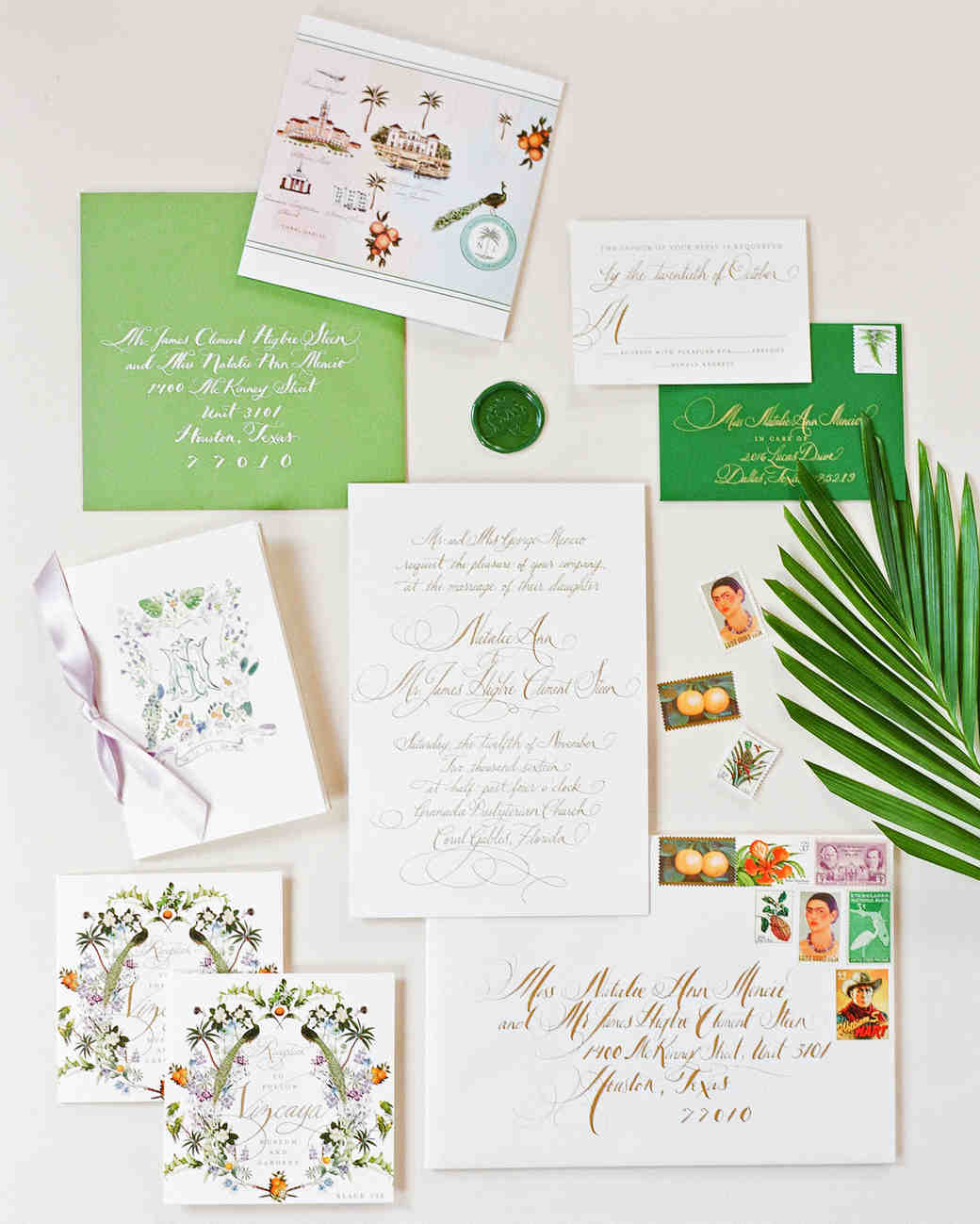 natalie jamey wedding stationery