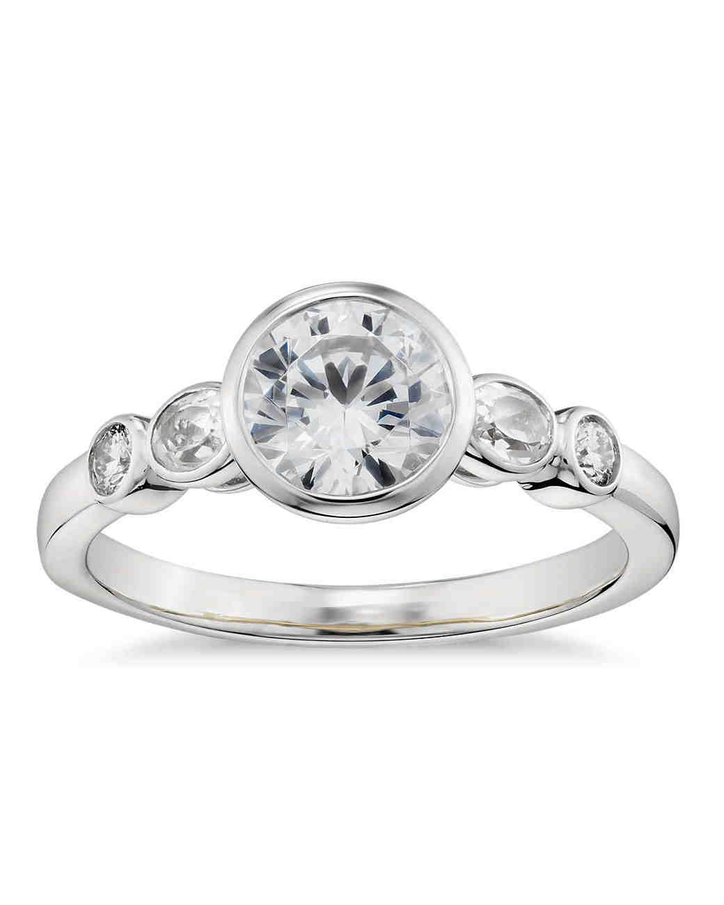 bezel setting - Wedding Ring Settings