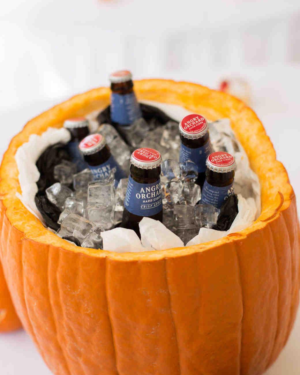 pumpkin drink cooler