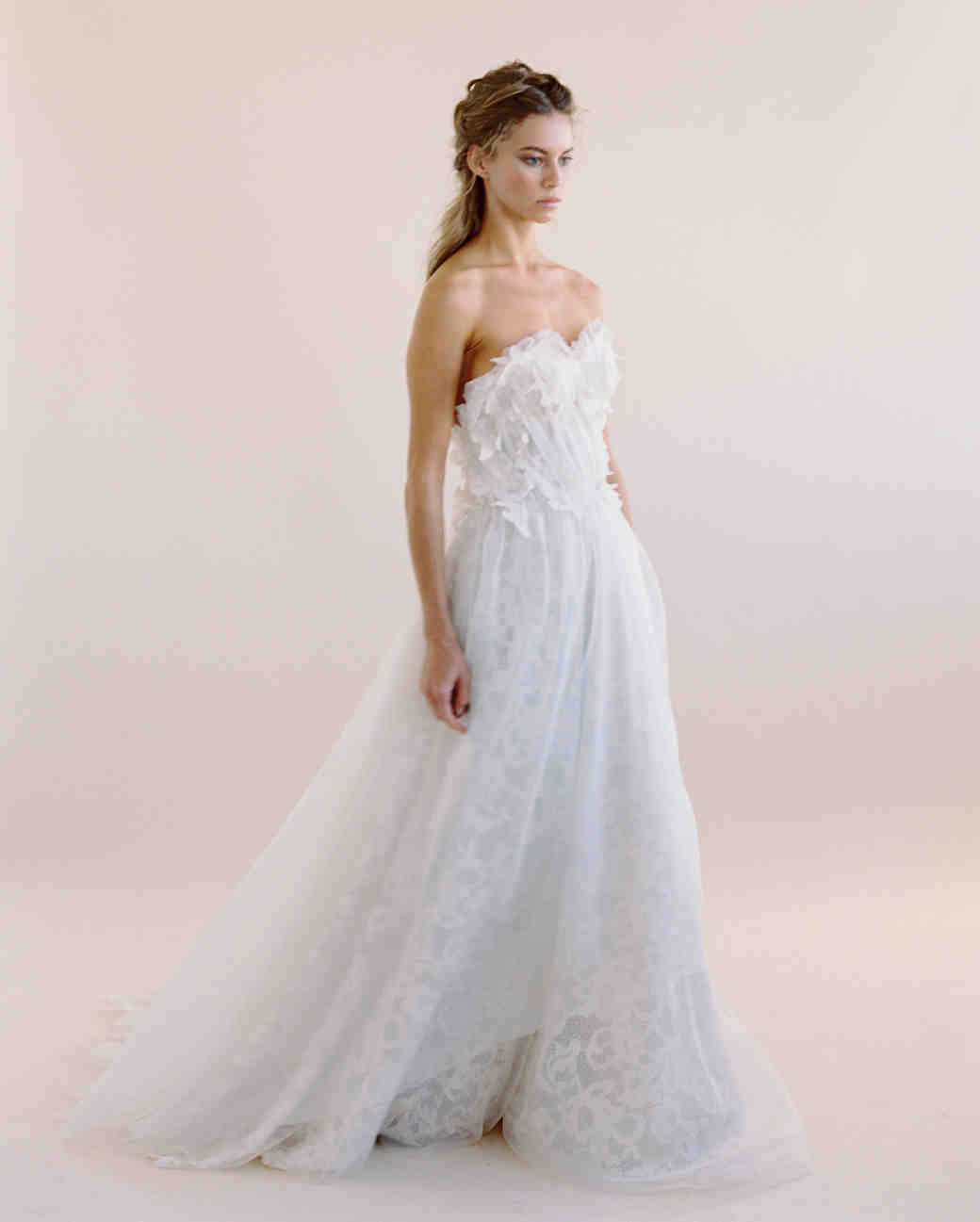 Nude Wedding Dresses 60 Best Samuelle Couture Fall Wedding