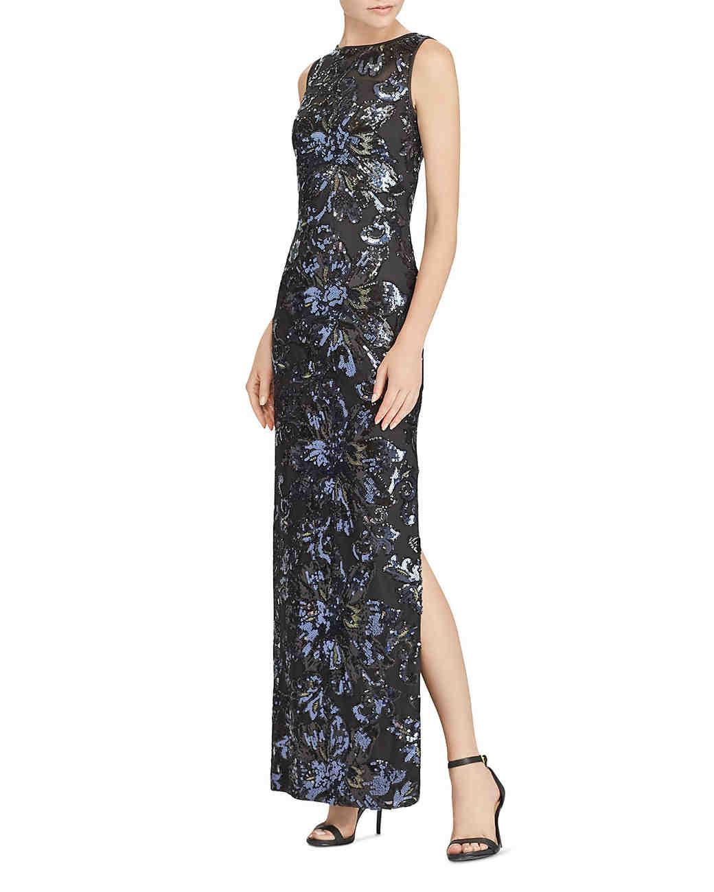 Lauren Ralph Lauren Sequined Gown