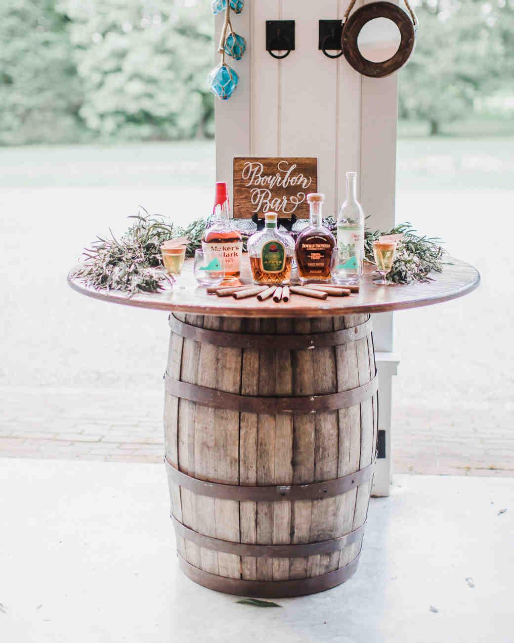Specialty Wedding Bar Bourbon Bar