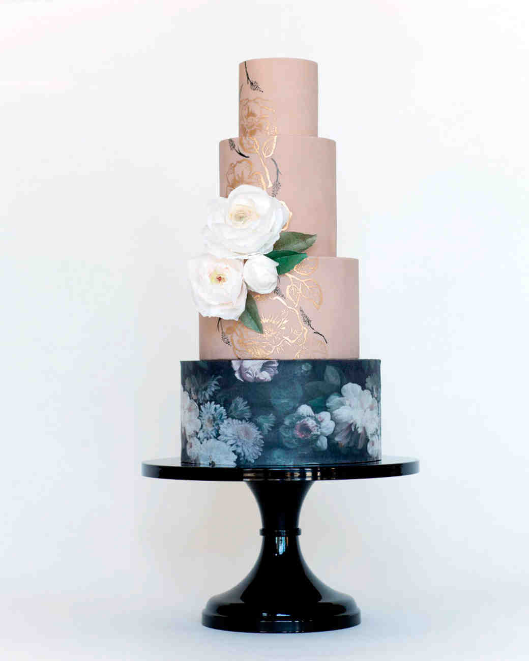 black pedestal wedding cake stand 19 cake stands for every wedding martha stewart weddings 11872