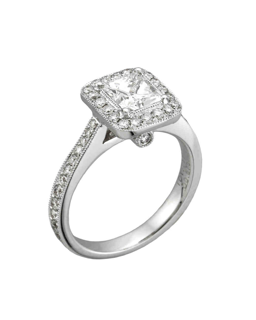 Yael Designs Princess-Cut Engagement Ring