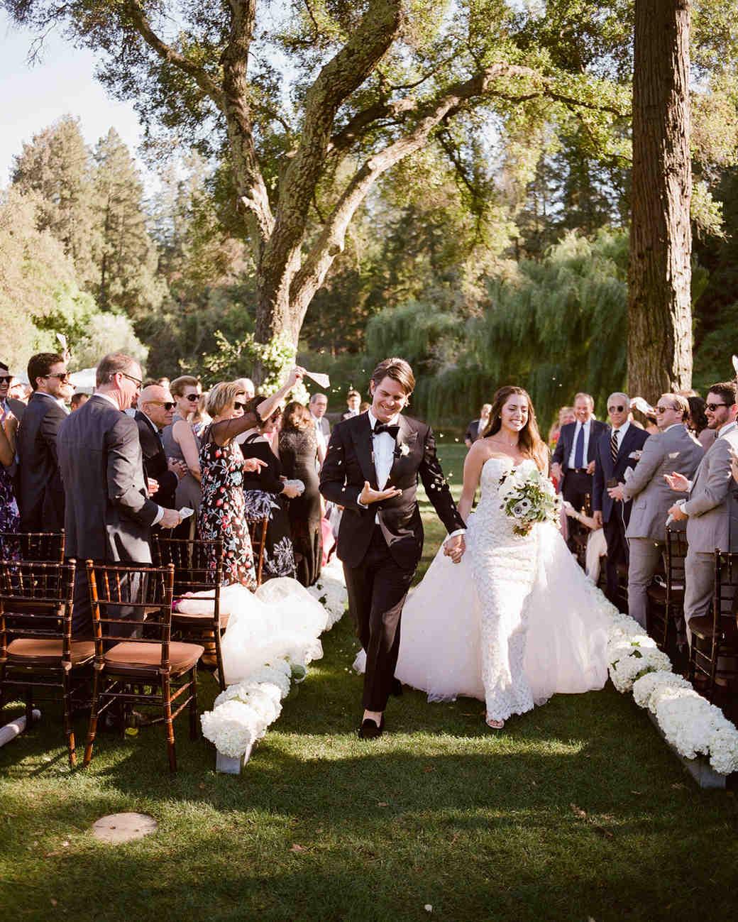 alessa andrew wedding recessional