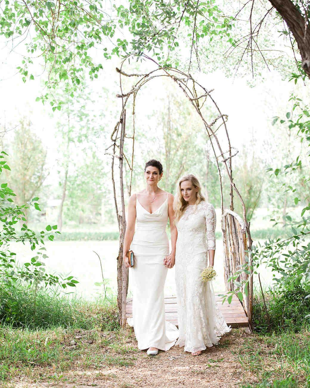 allison aimee wedding brides processional