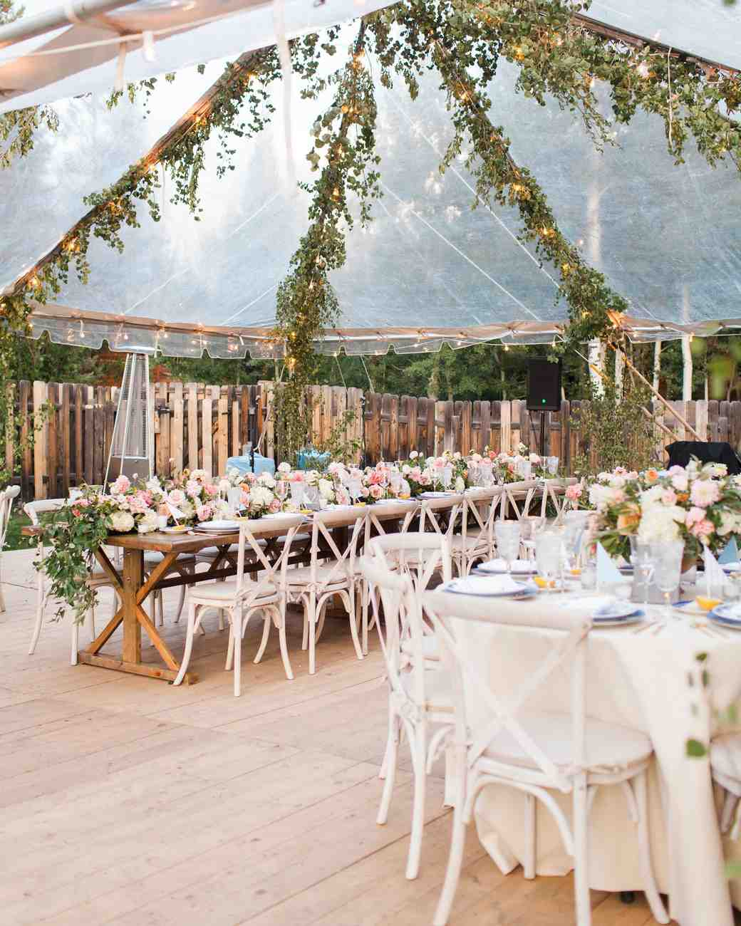 a guide to wedding reception tables