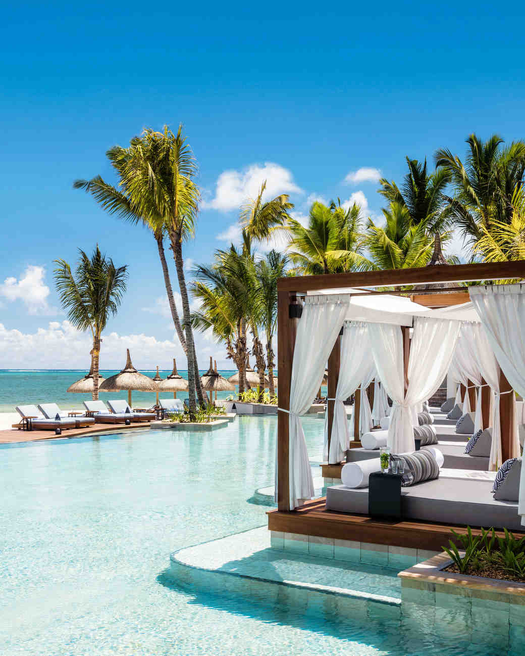 the 50 best beach honeymoon destinations | martha stewart weddings