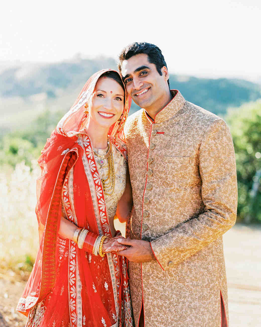 2d376eb21a An Elegant Two-Day Wedding in California with Both an Indian and a Western  Ceremony | Martha Stewart Weddings