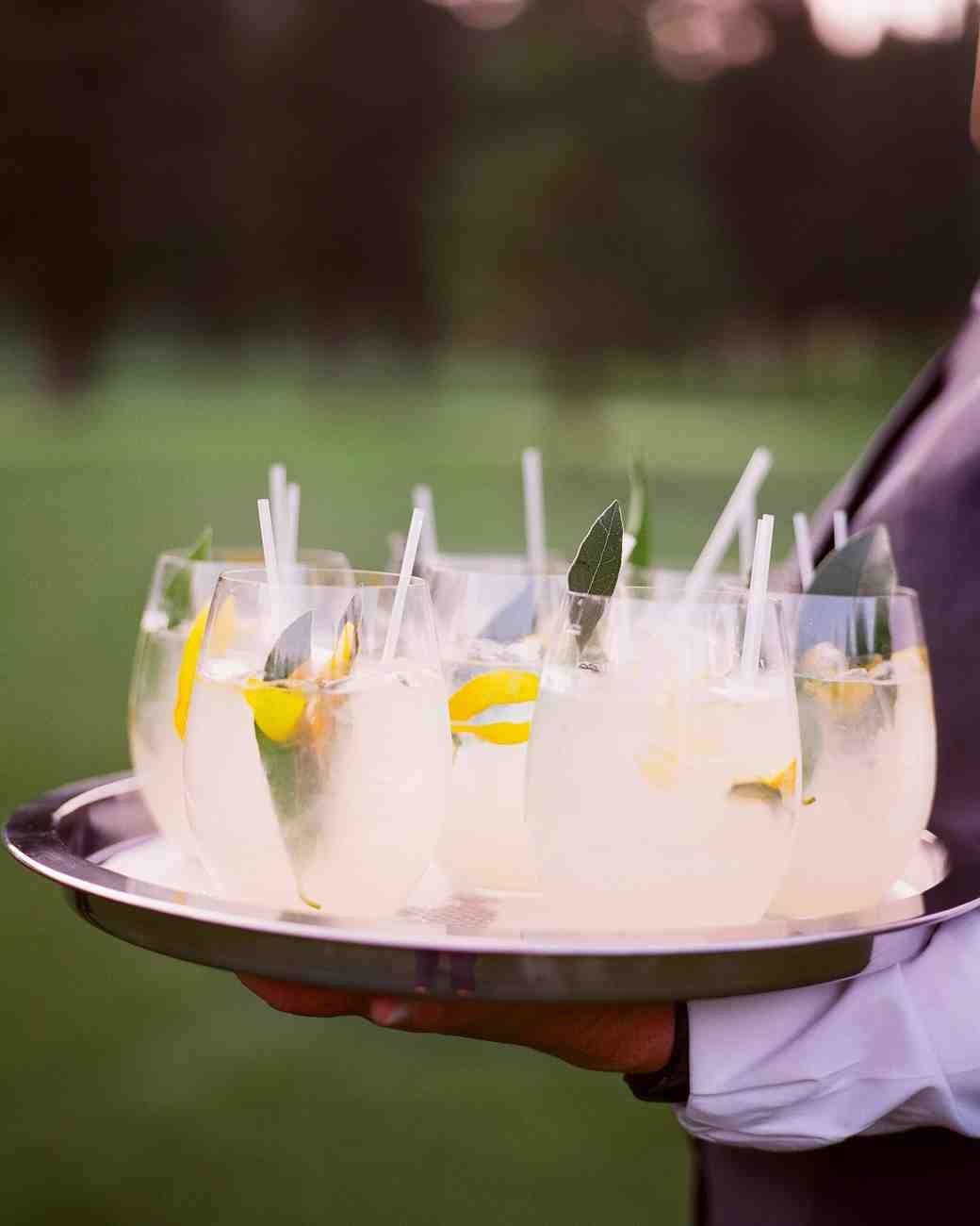 caitlin michael wedding cocktails
