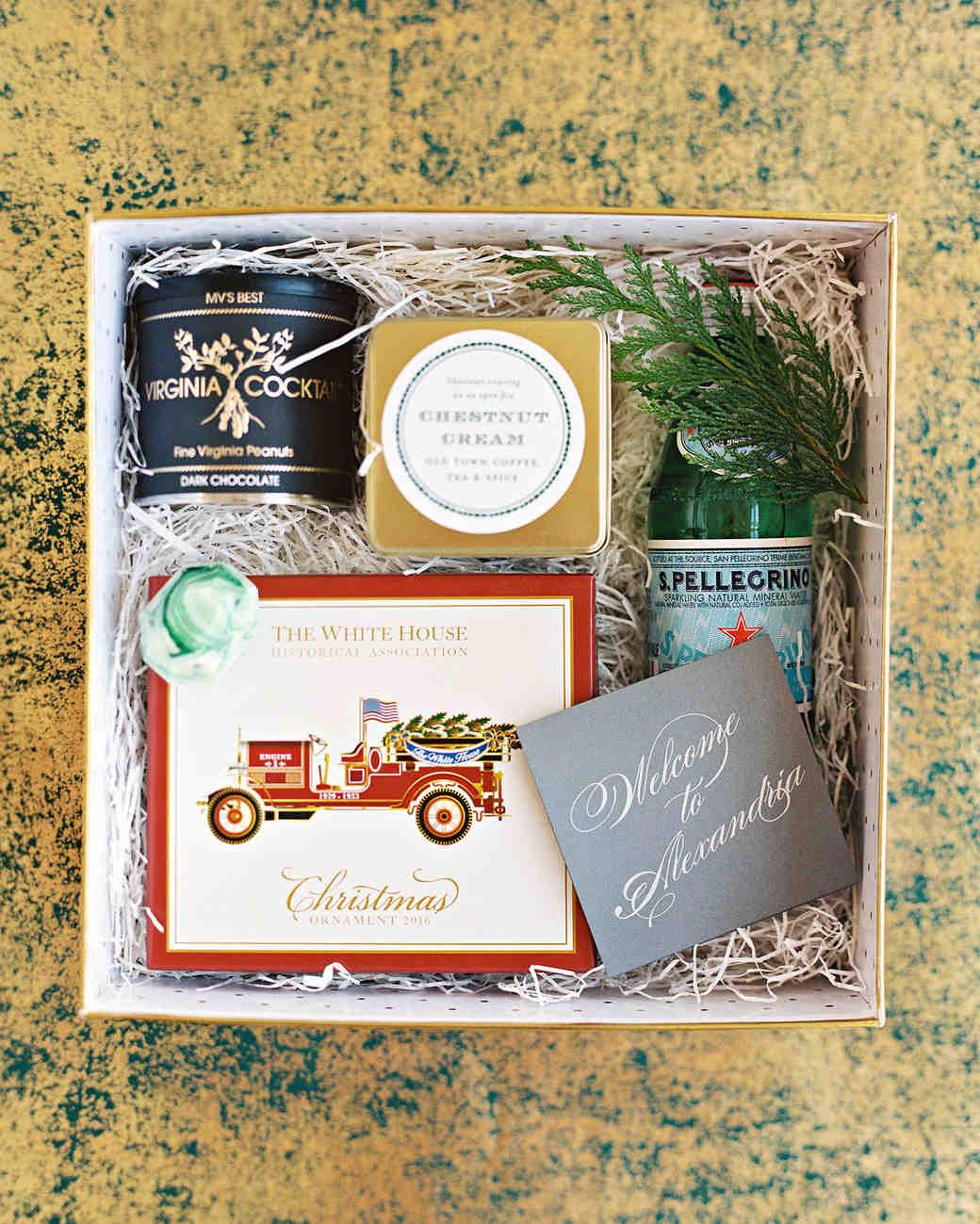 celina rob wedding virginia welcome boxes