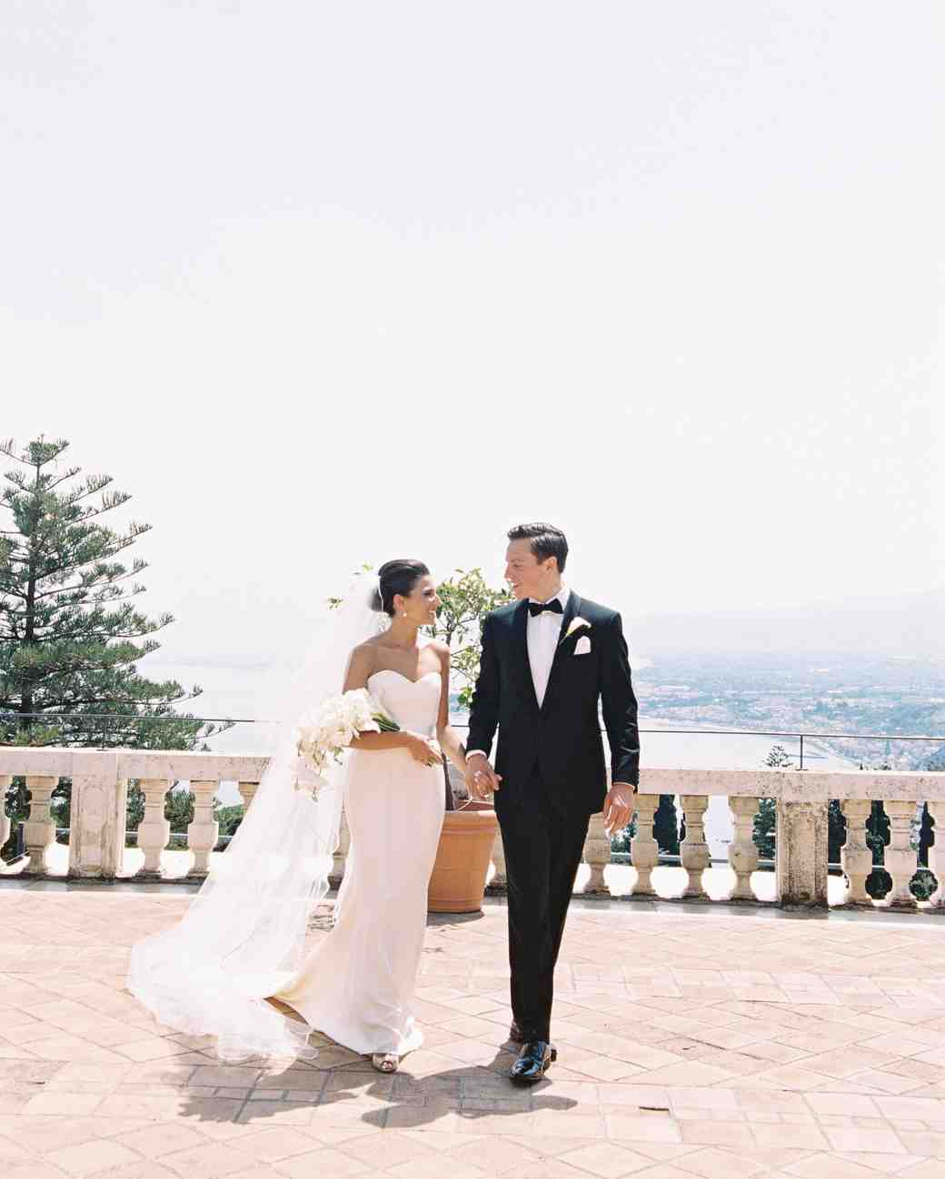 This Classic Wedding In Italy Began With An Unforgettable