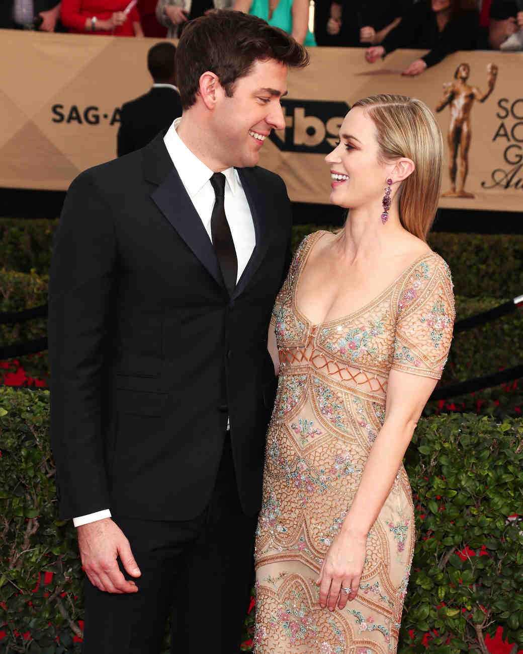 Emily Blunt and John Krasinski Sag Awards 2017