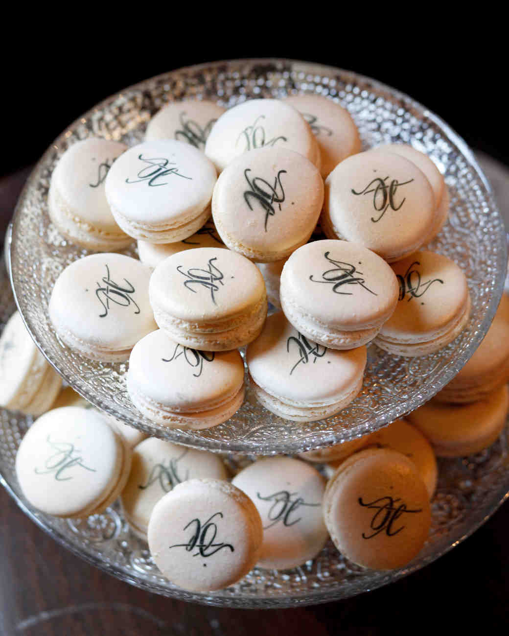 bridal shower macarons