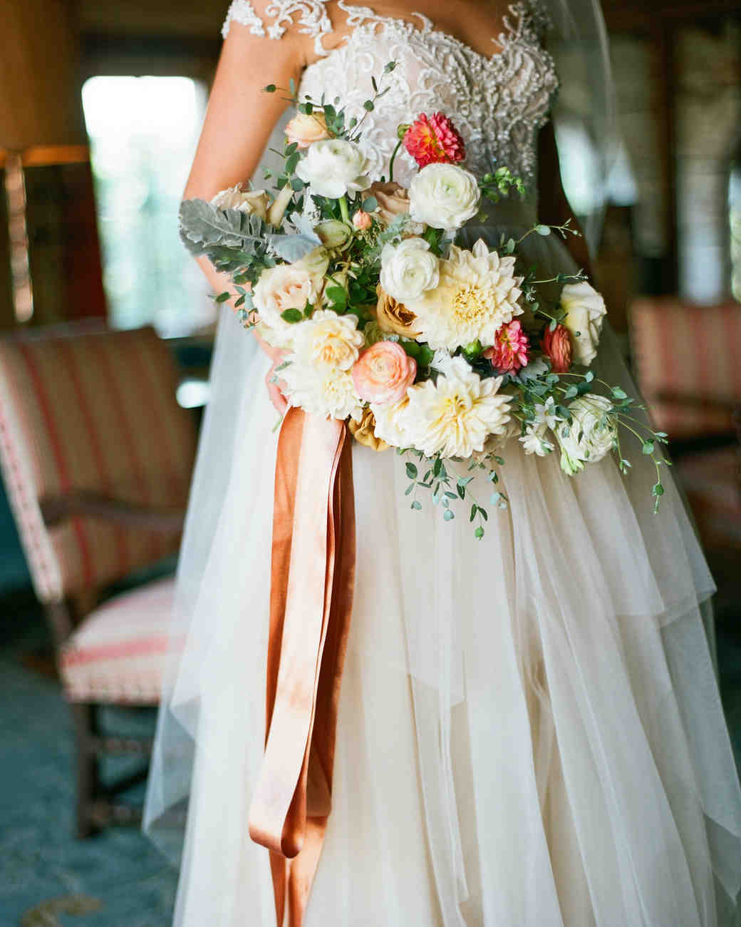 jessika william wedding bouquet
