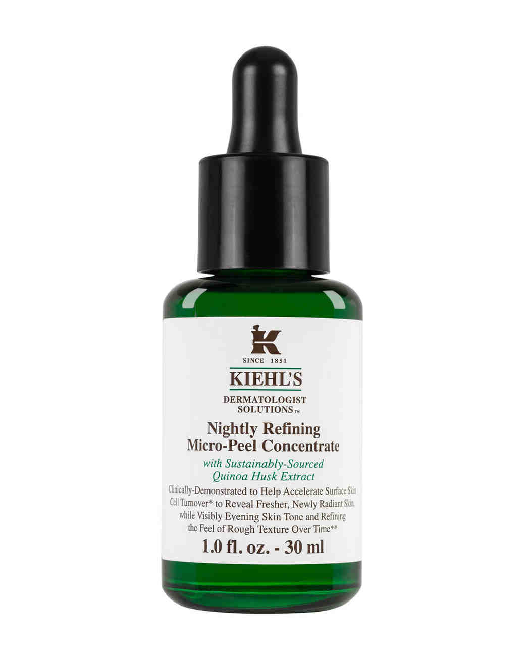 kiehls nightly refining micro peel