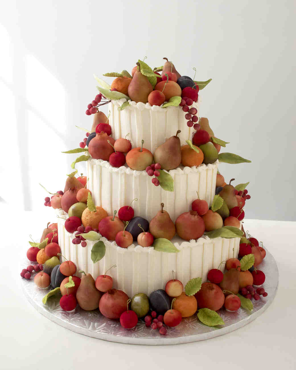 Fruit wedding cake recipes