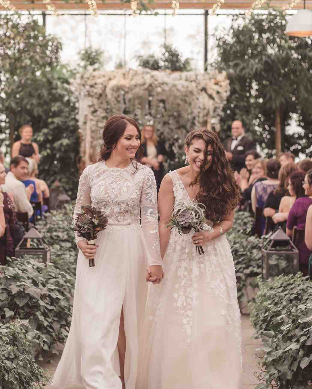 lgbtq bridal inspiration girl with the tattoos