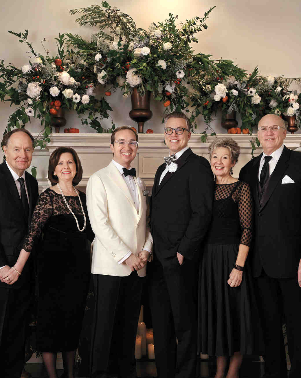 grooms with families