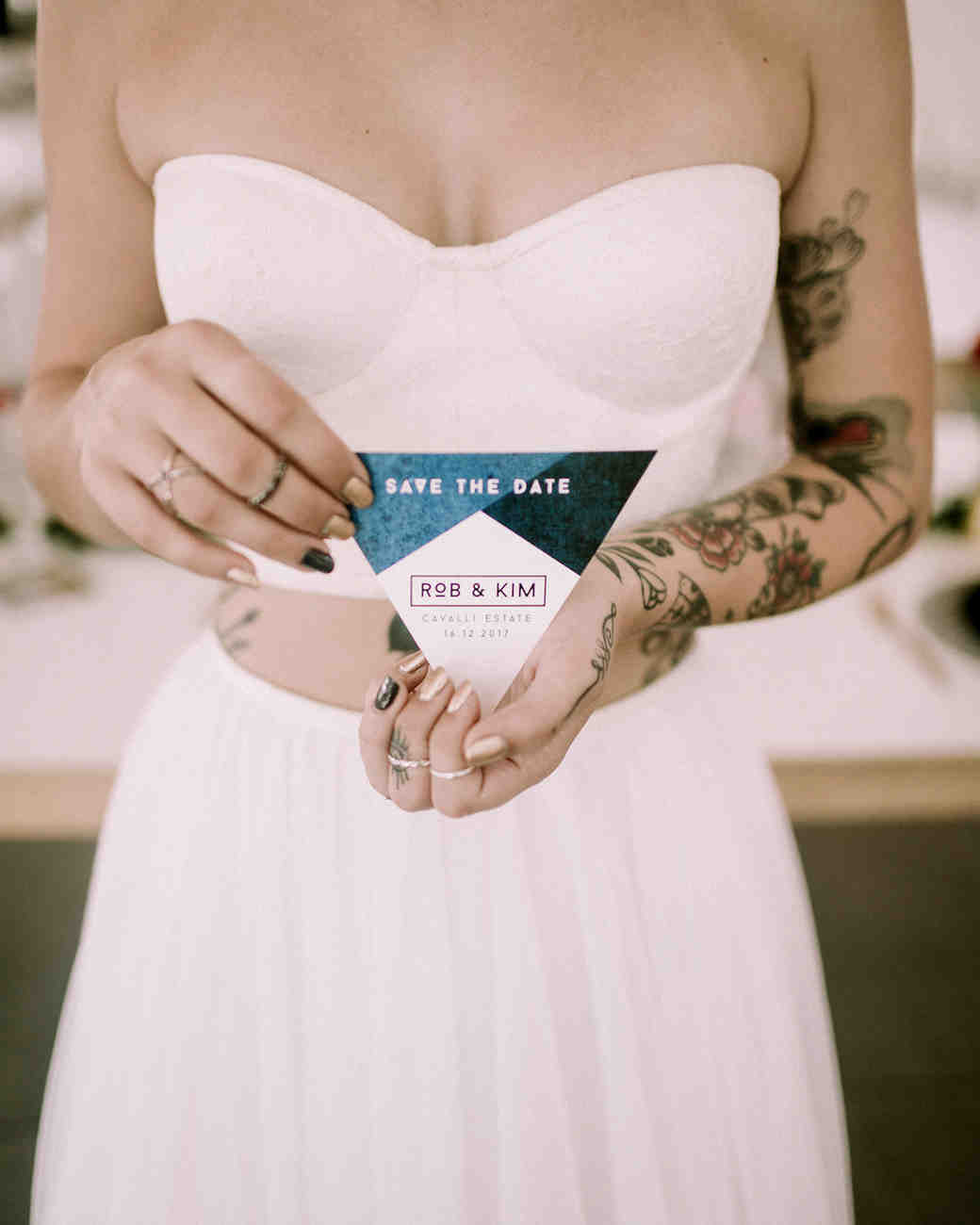 modern save the dates ronel kruger photography