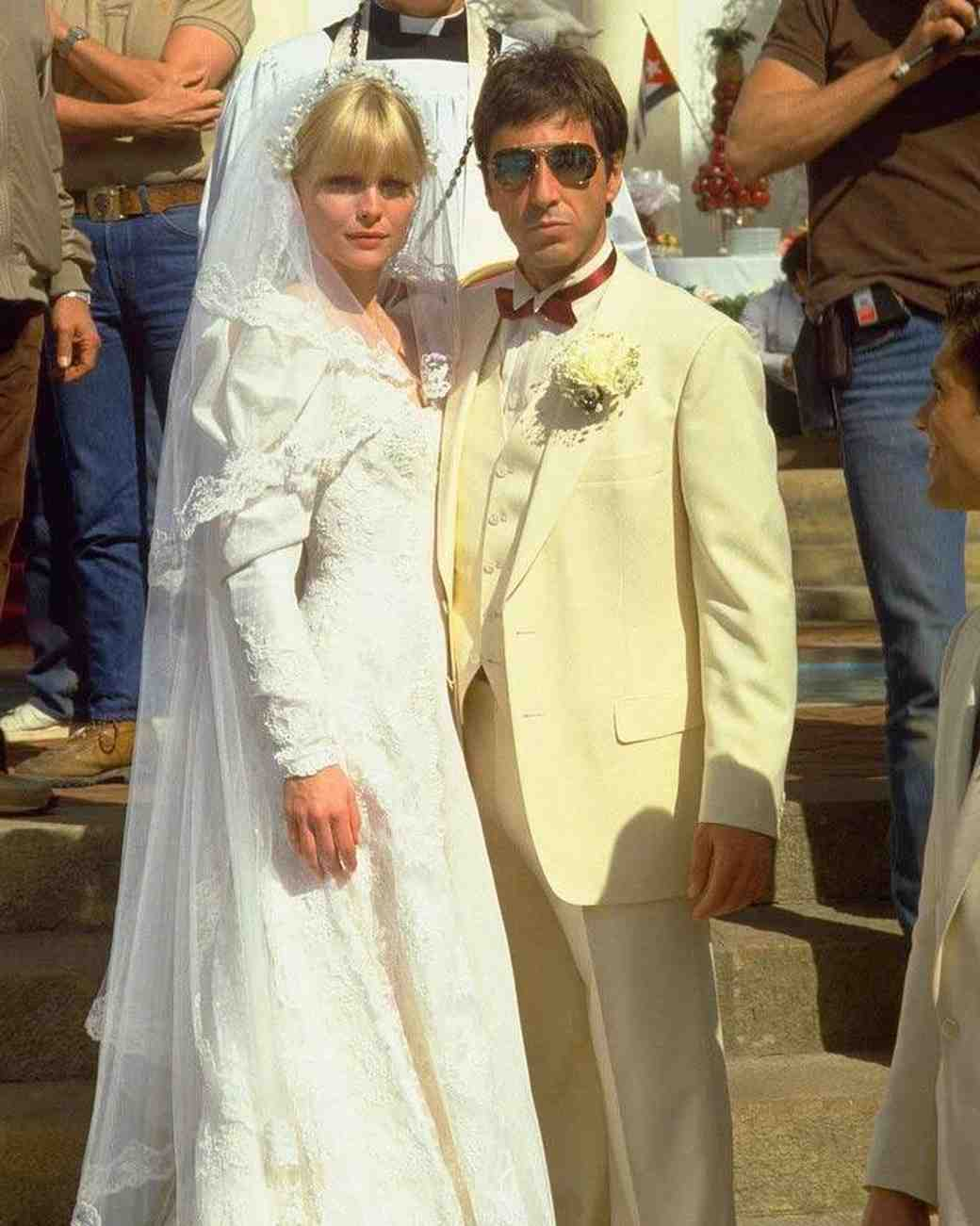 Scarface wedding dress