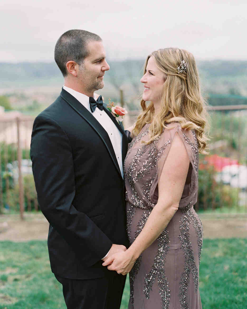 A Surprise Wedding At The Bride S Rose Farm In California
