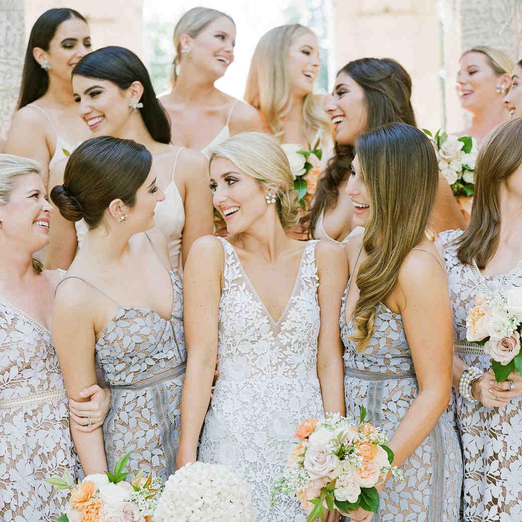 natalie jamey wedding bridesmaids relaxed