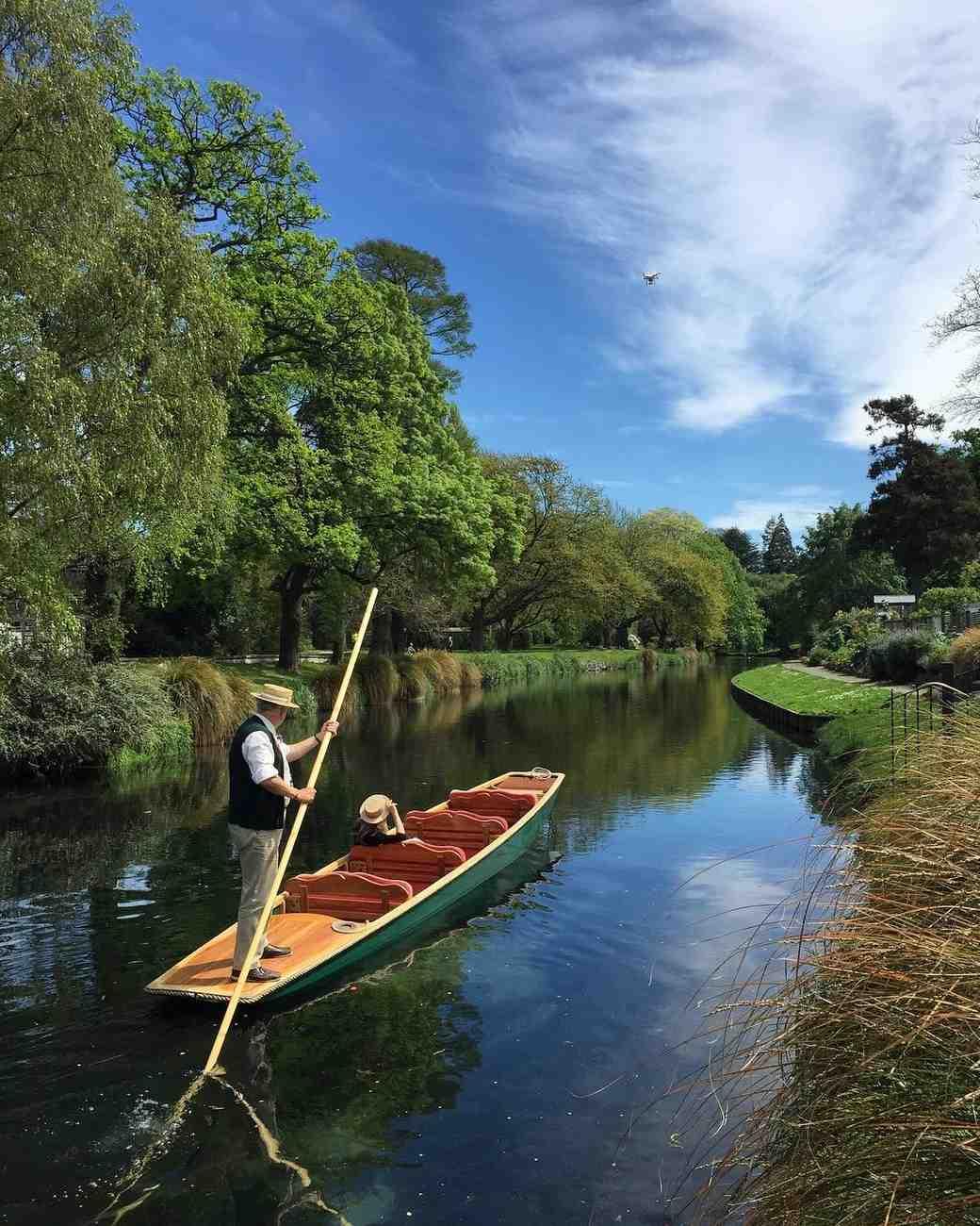 new zealand christchurch canterbury avon river