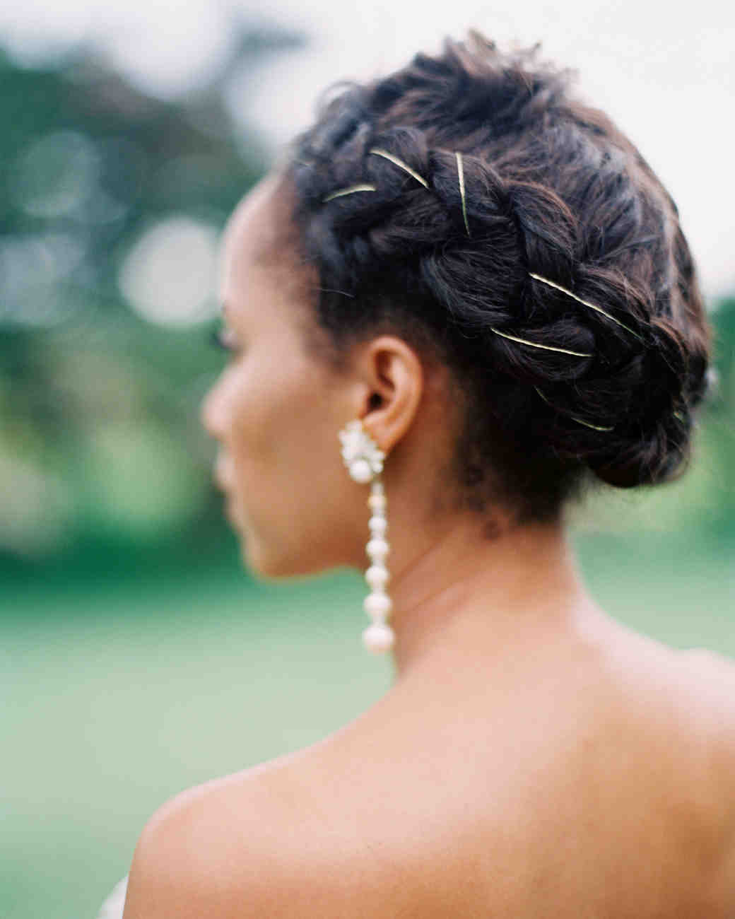 Black Braided Wedding Hairstyles: 25 Braided Wedding Hairstyles We Love