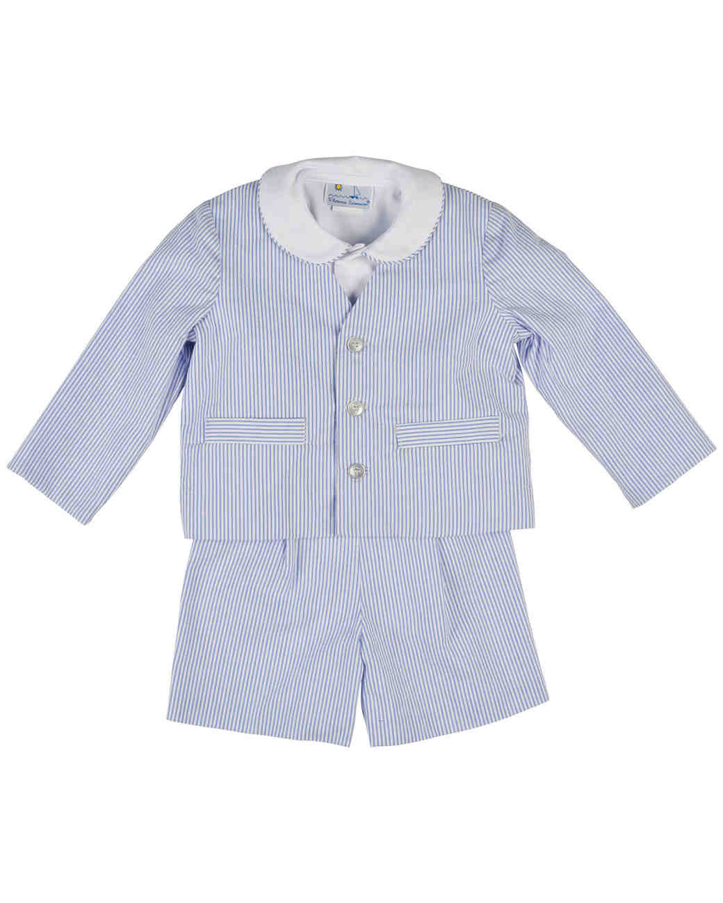 spring ring bearer outfits florence eiseman blue and white stripe