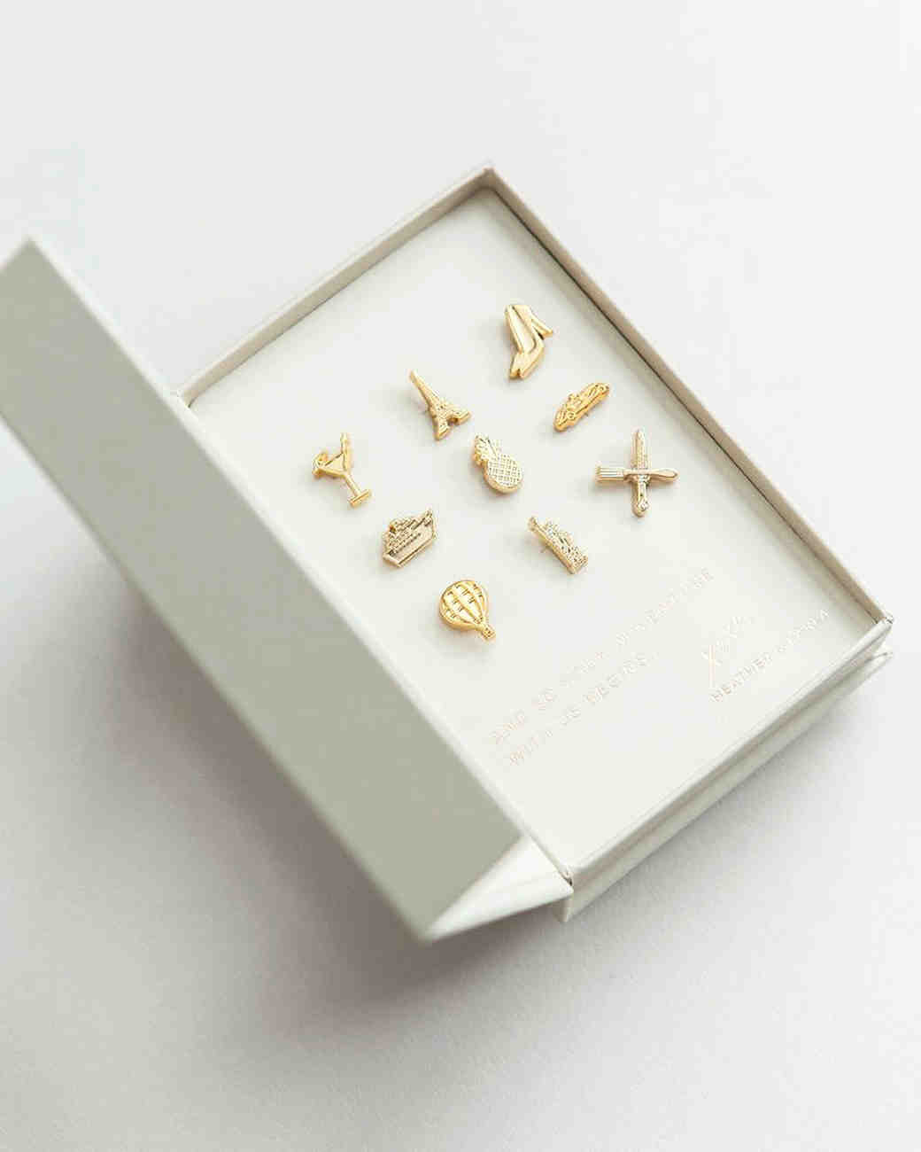 gold pins