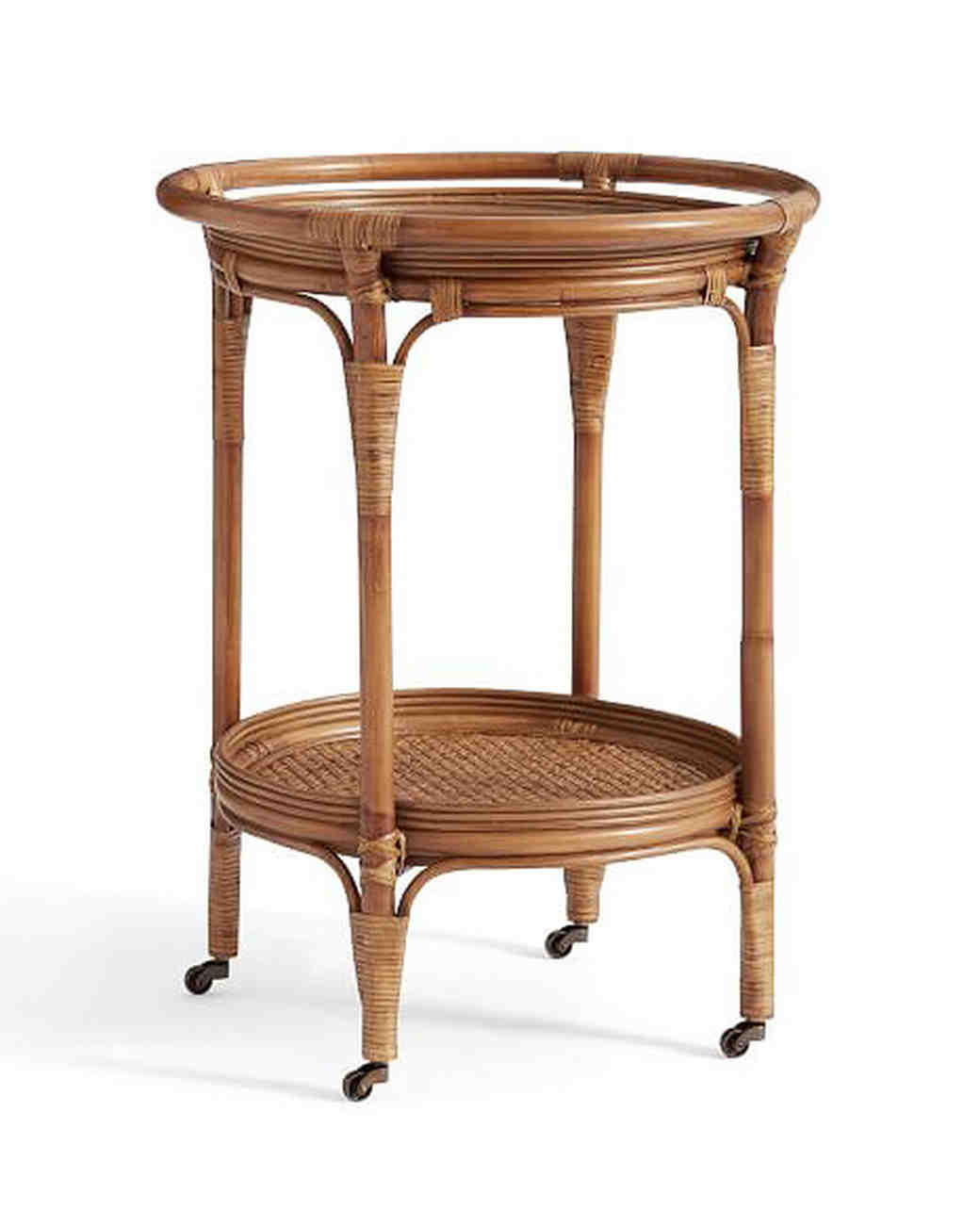 willow anniversary gift bar cart