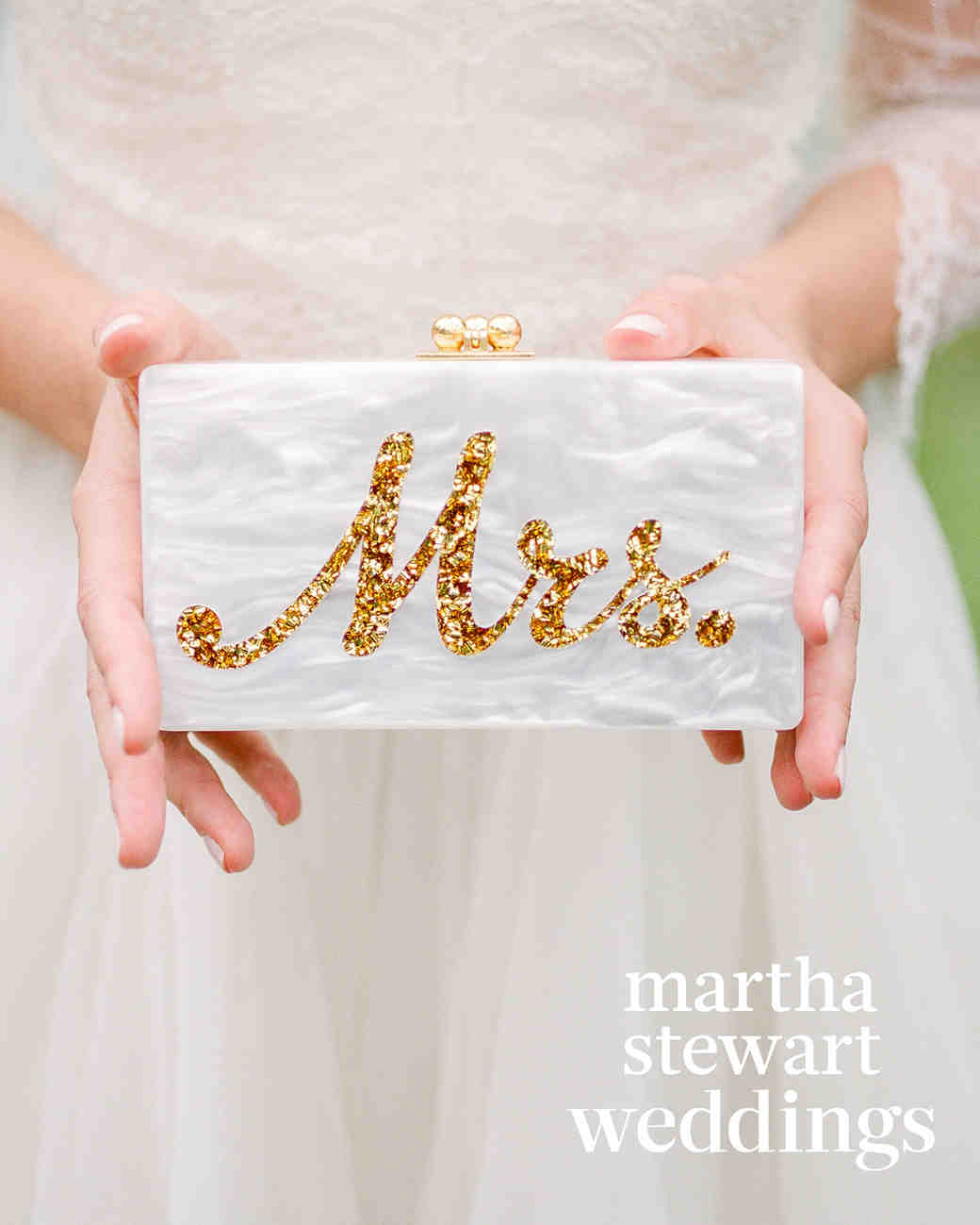 abby elliott bill kennedy wedding clutch