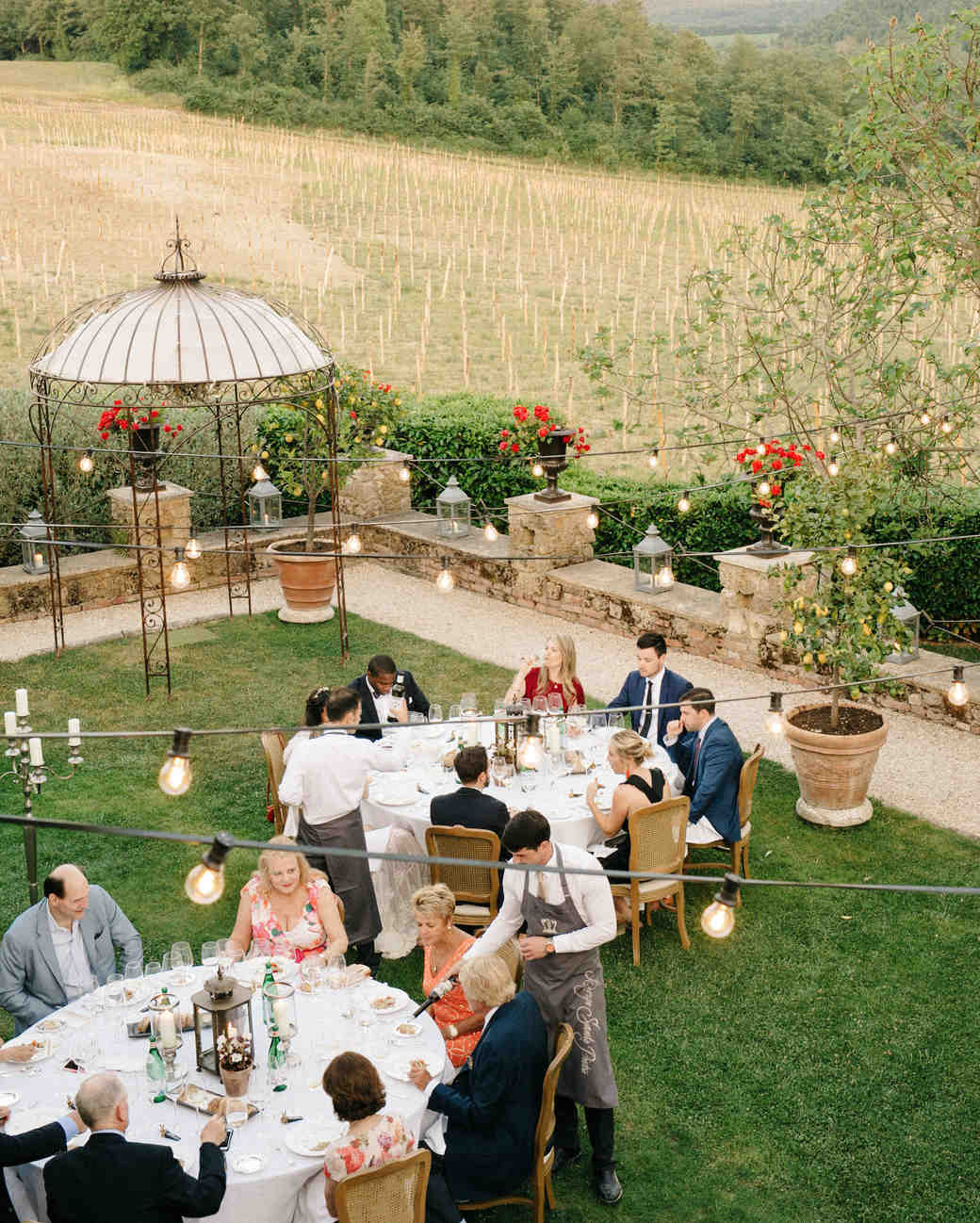 alexis zach wedding italy reception