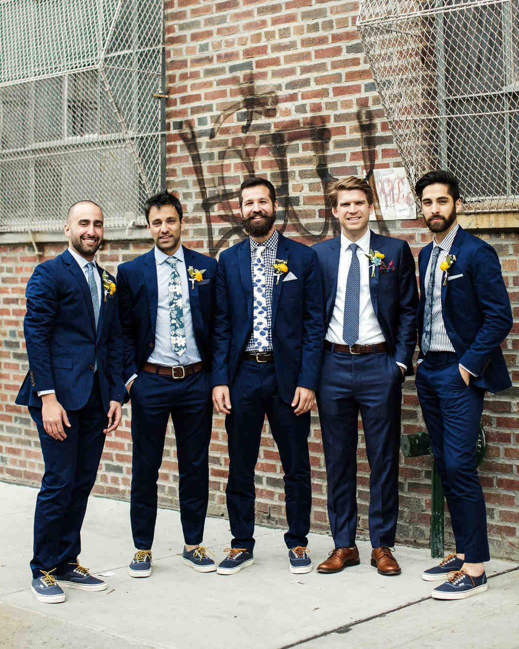 Olivia And Tyler S Black Tie Wedding In Their Family S: 29 Stylish Groomsmen From Real Weddings