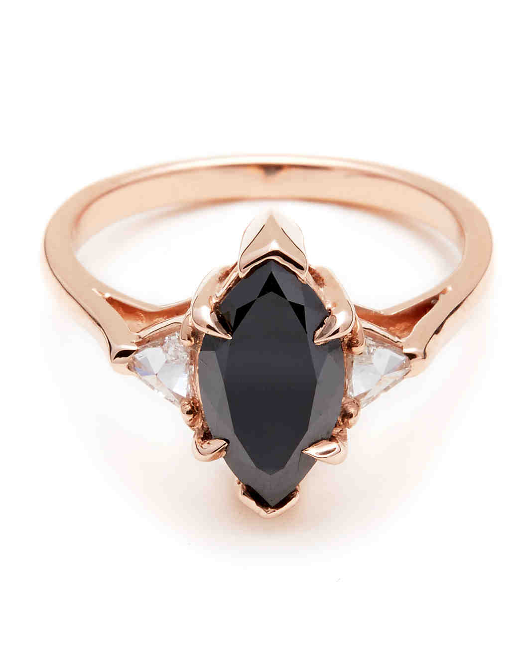 Wedding Rings With Black Diamonds | The New Lbd The Little Black Diamond Engagement Ring Martha