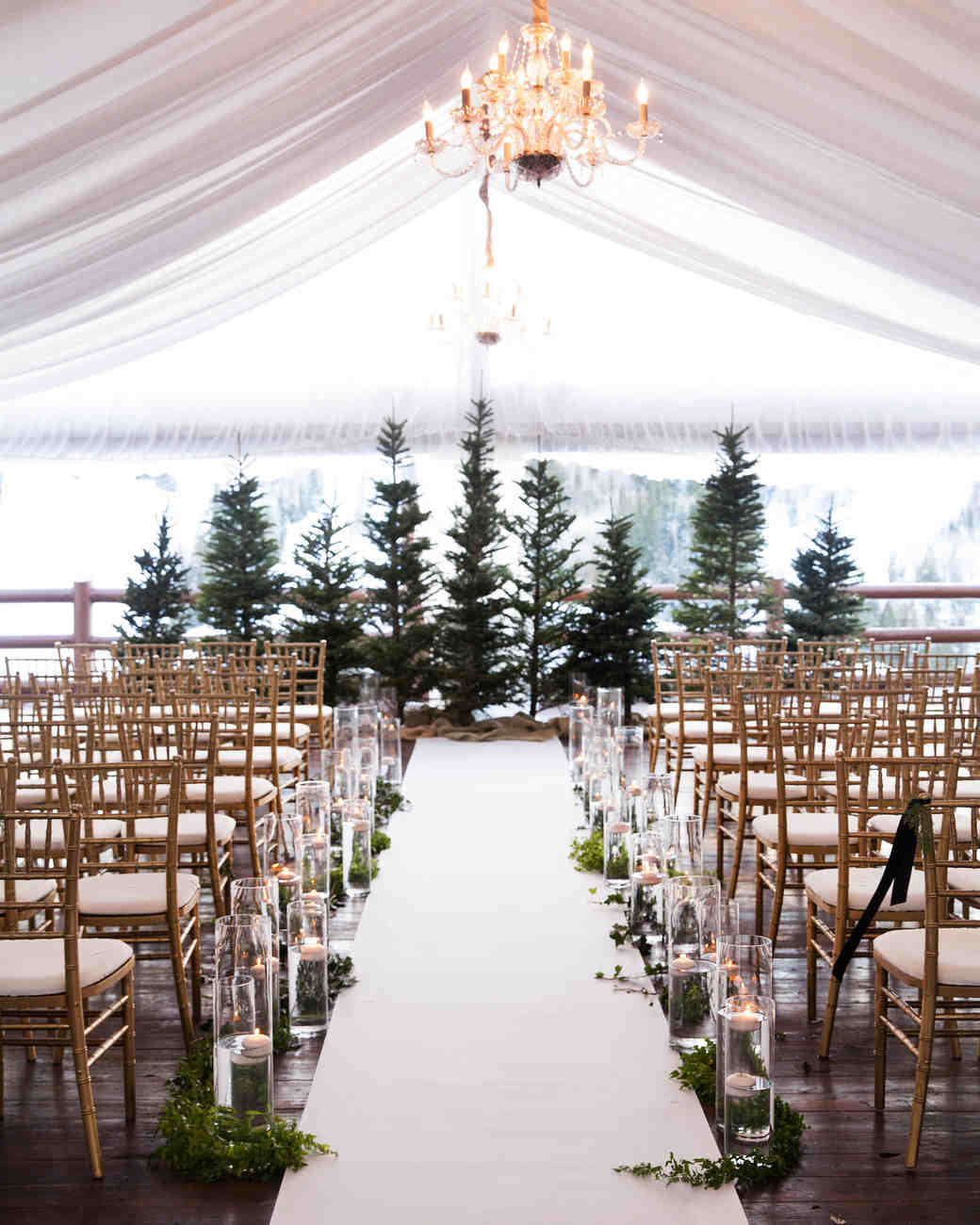 trees wedding decor 25 festive tree inspired wedding ideas martha 8066