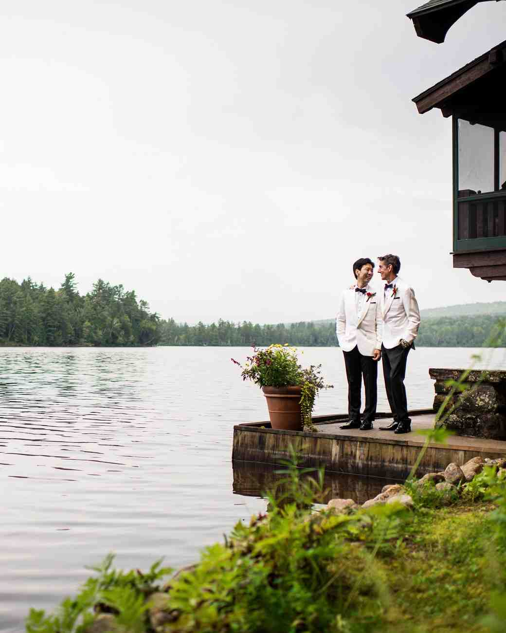 A Moroccan-Themed Wedding in The Adirondacks | Martha Stewart Weddings