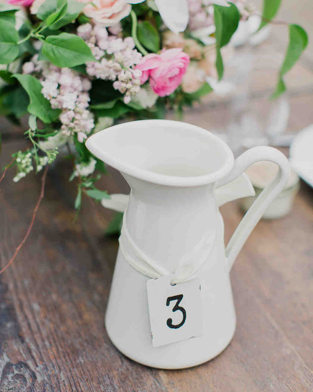 decanter wedding table number